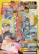 Scan de Iruka y Konohamaru