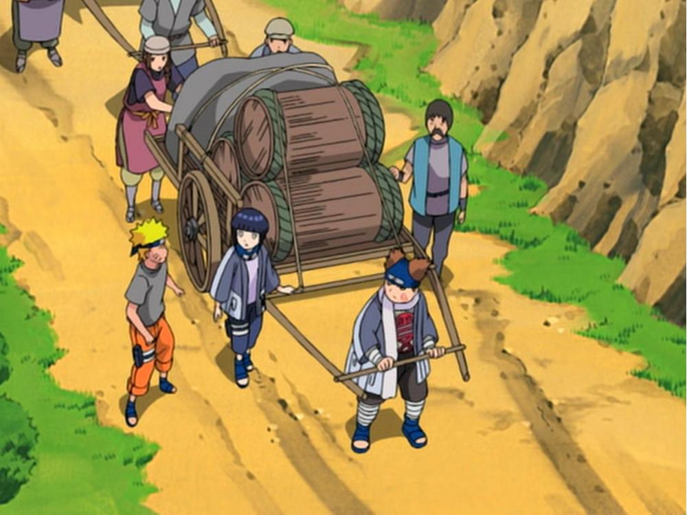 Naruto - Episódio 187: Aberto para Negócios! O Serviço Móvel da Folha