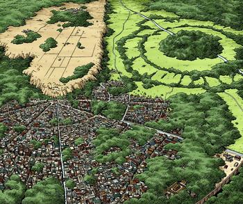 Vista aérea Manga