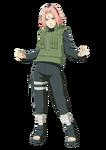 Sakura Haruno (Renderização - Revolution)