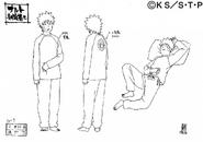 Arte Pierrot - Naruto Pijama