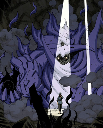 Sword of black flames.