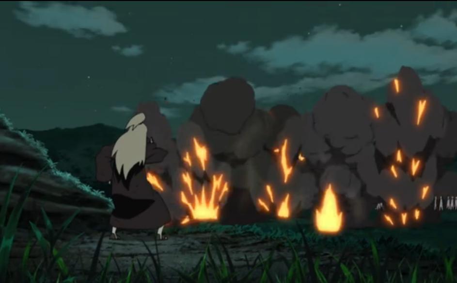 Naruto Shippūden - Episódio 280: A Estética do Artista