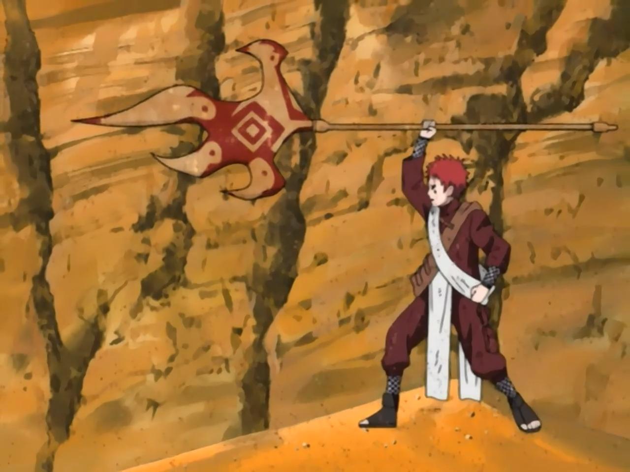 Ataque Absoluto Rígido Final: Lança de Shukaku