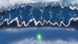 A técnica descrita no anime.