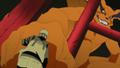 Kurama bate punhos com Naruto