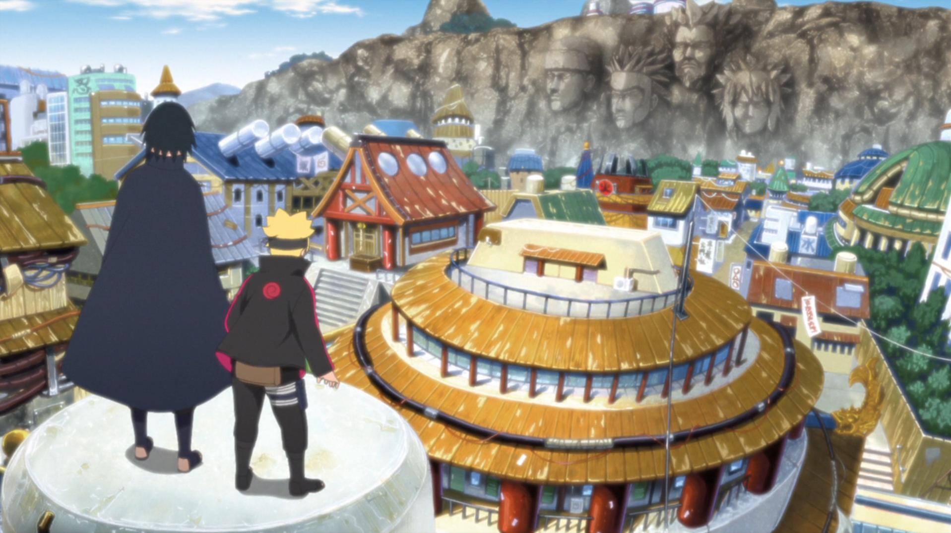 Le Village caché de Konoha