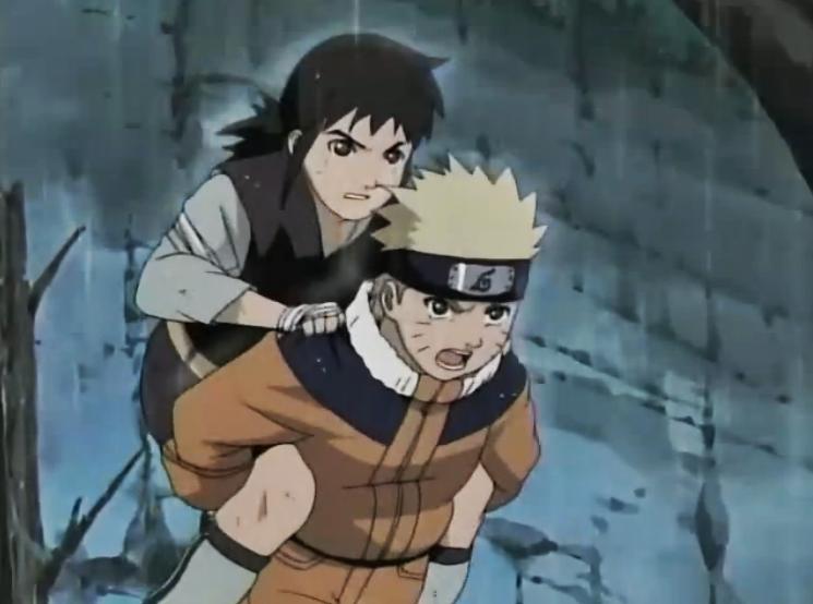 Naruto - Episódio 104: Corre, Idate, Corre... A Ilha Nagi o Aguarda!