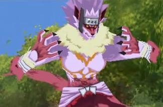 Ninjutsu Estilo Tenro: Transformación en Hombre Bestia