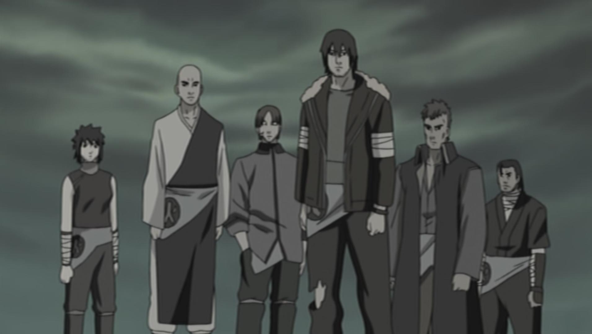 Doze Guardiões Ninja (Arco)