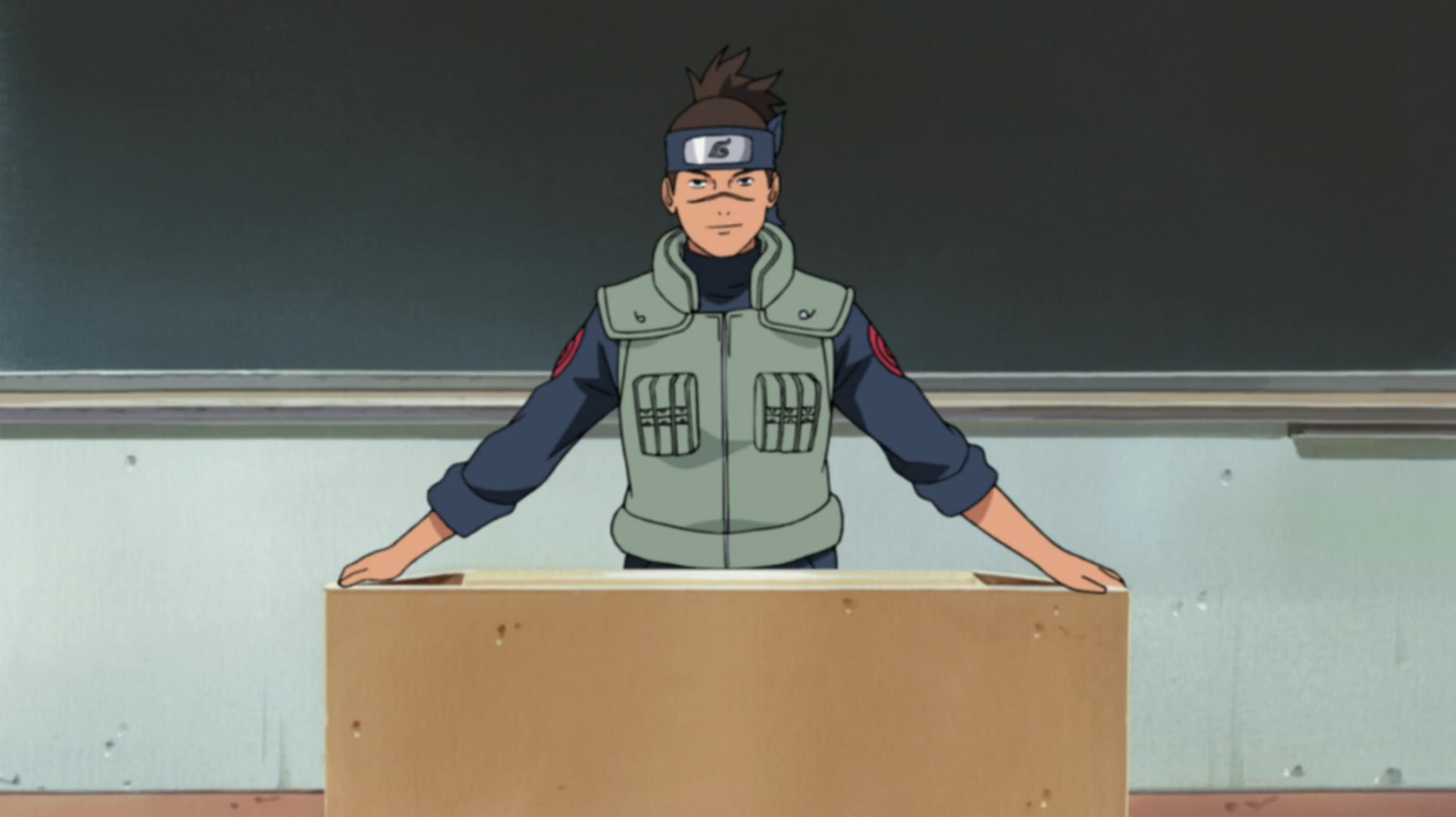 Chapitre de Konoha : Iruka, professeur novice