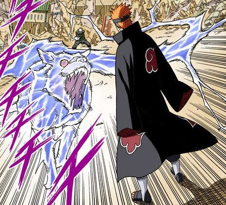 Lightning Release Lightning Beast Tracking Fang Narutopedia Fandom Haha xd maybe it's perspective. lightning release lightning beast