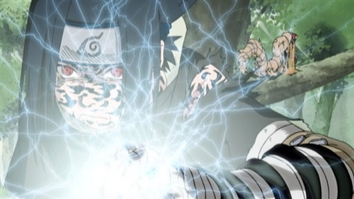 Naruto - Episódio 75: A Decisão de Sasuke: Pressionado ao Extremo!