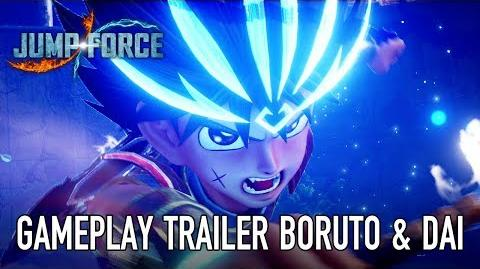 JUMP Force - PS4 XB1 PC - Boruto & Dai (Gameplay Trailer)