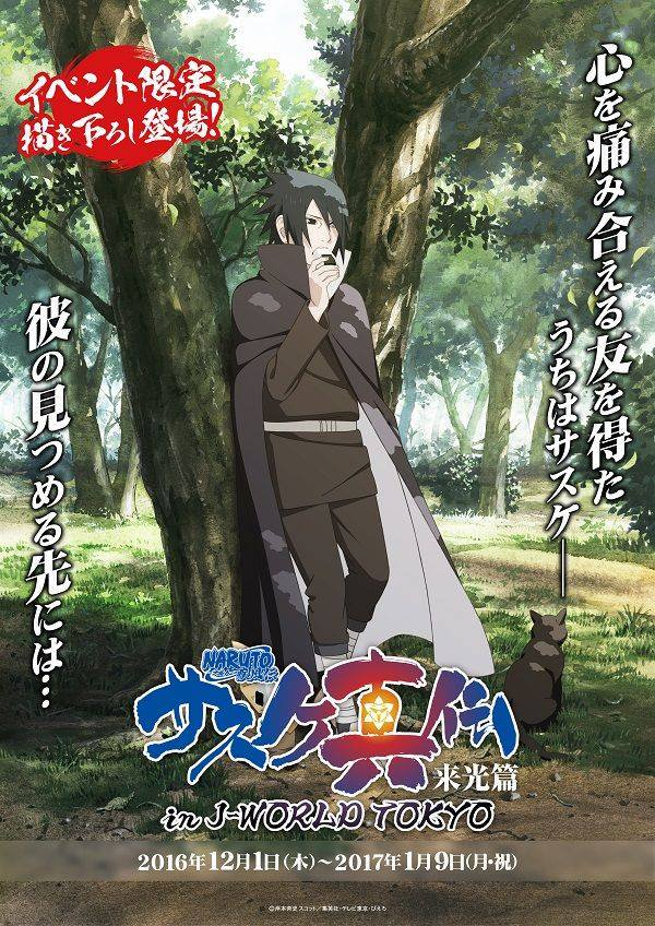 Sasuke Shinden: Livro da Alvorada (Arco)