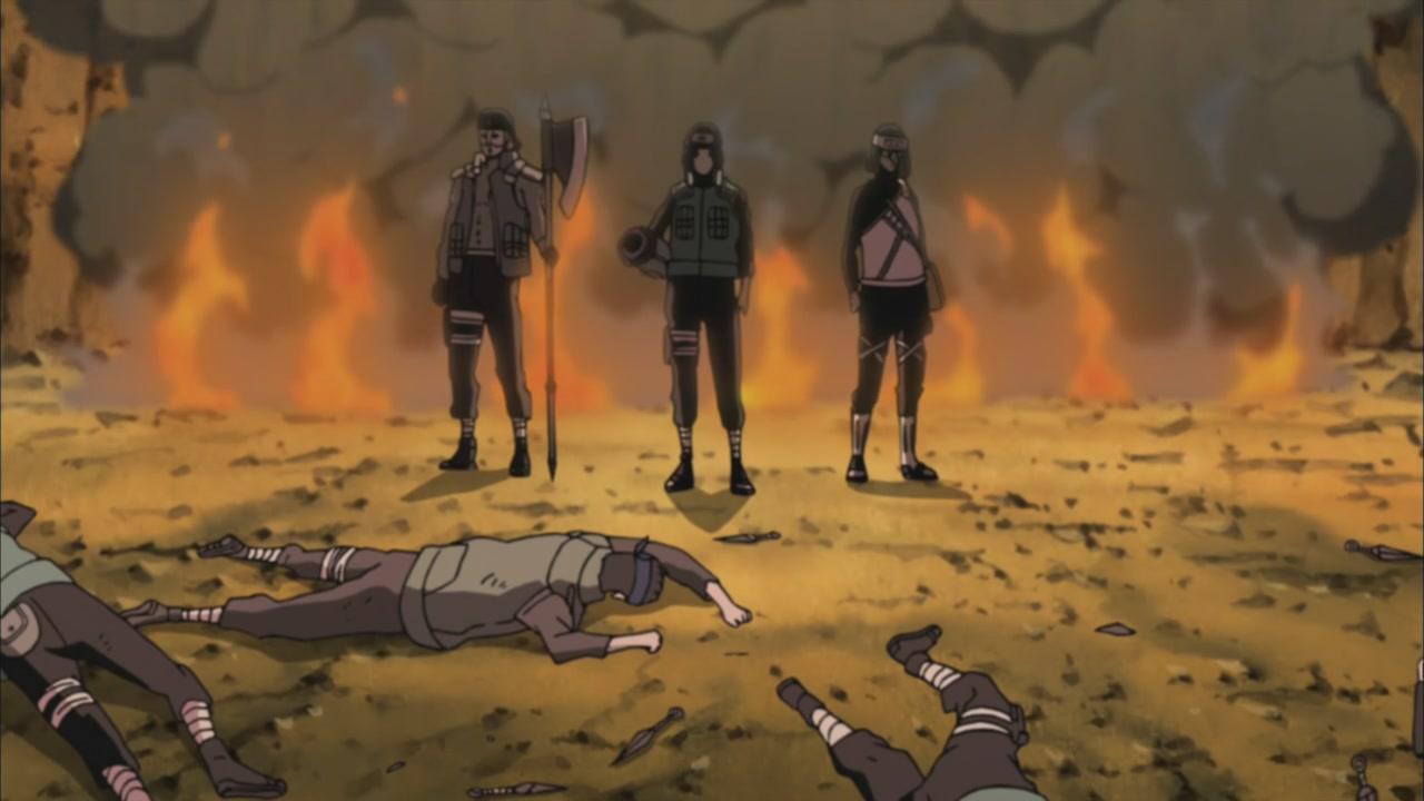 Naruto Shippūden - Episódio 307: Desaparecendo no Luar