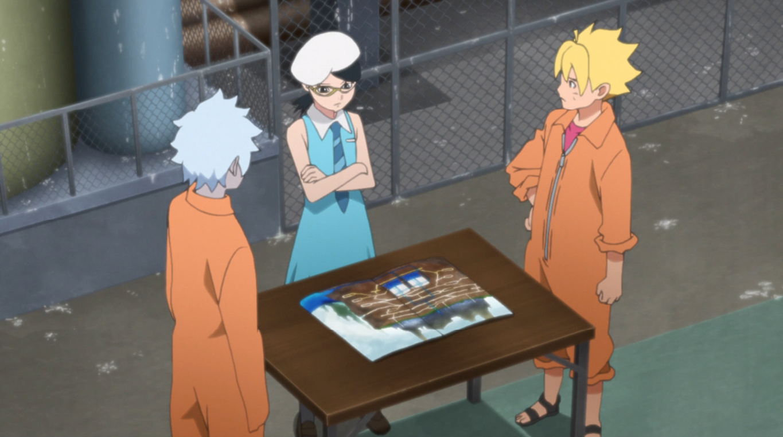 Plan d'évasion à Hôzuki
