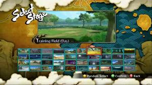 Naruto Storm 3 - Selección de Arenas.png