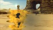 Cintilação Corporal na Areia (Rasa - Game)