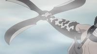 Fūma Shuriken de cuatro cuchillas plegables.png
