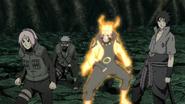 O Time Kakashi se prepara para a batalha