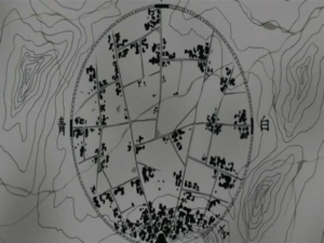 Barrera de Cinco Sellos: Cierre de las Ocho Puertas del Castillo