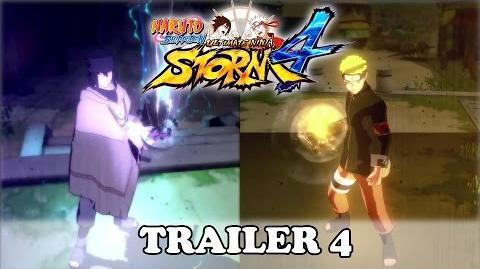 Naruto Shippuden Ultimate Ninja Storm 4 Trailer 4 (OFFICIAL JAPAN EXPO TRAILER)
