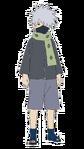 Kakashi - 5 anos (Render)