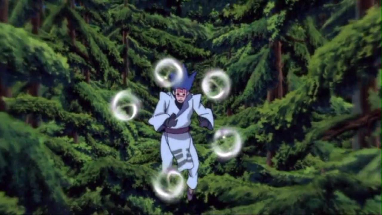 Liberação de Vento: Shuriken Rotativa