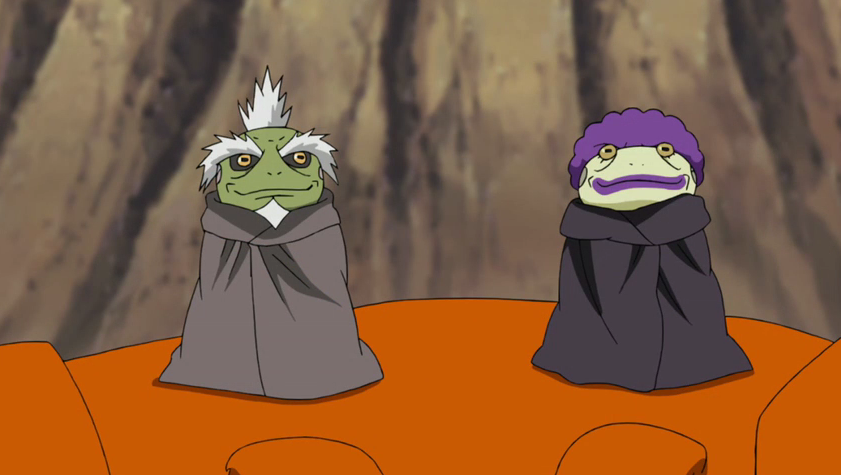 Two Great Sage Toads
