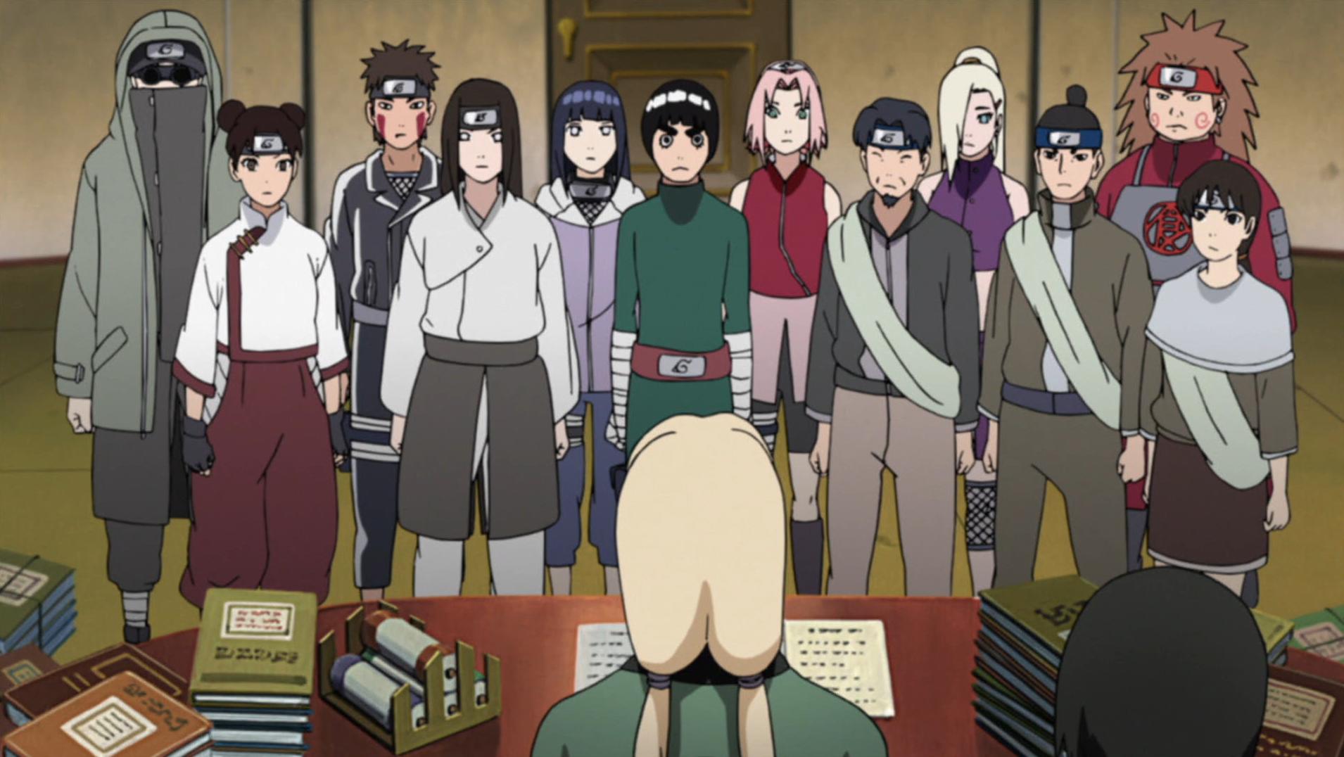 Seguindo os Passos de Naruto: Os Caminhos dos Amigos