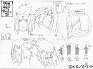 Arte Pierrot - Sasuke Exame Chunin2