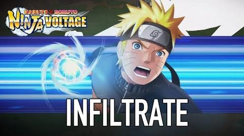 Naruto x Boruto Ninja Voltage - iOS Android - Infiltrate (Gamescom Announcement Trailer)