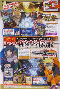 Scan Shinobi Striker y Storm Trilogy