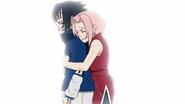 Sakura pára Sasuke