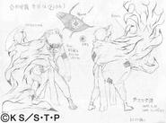 Arte Pierrot - Gaara (Transformação)