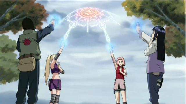 Naruto Shippūden - Episódio 103: A Barreira de Selamento de Quatro-Cantos
