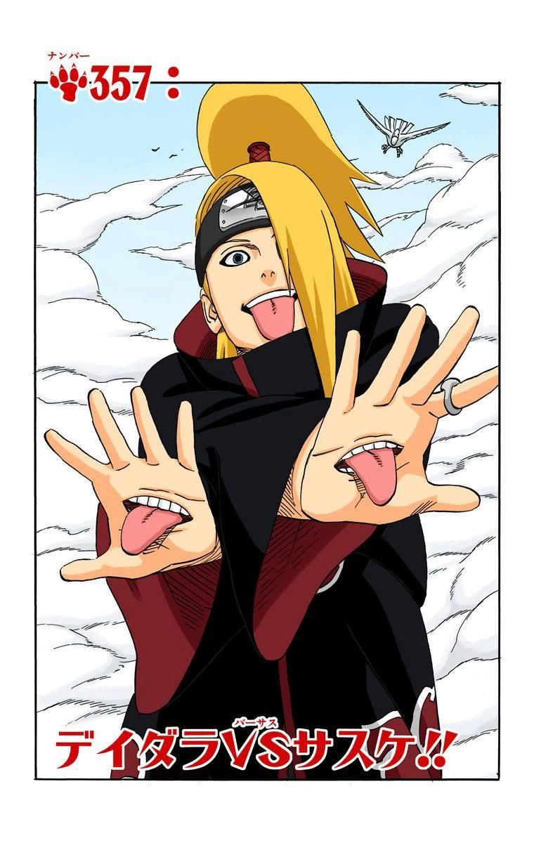 Deidara vs Sasuke !!