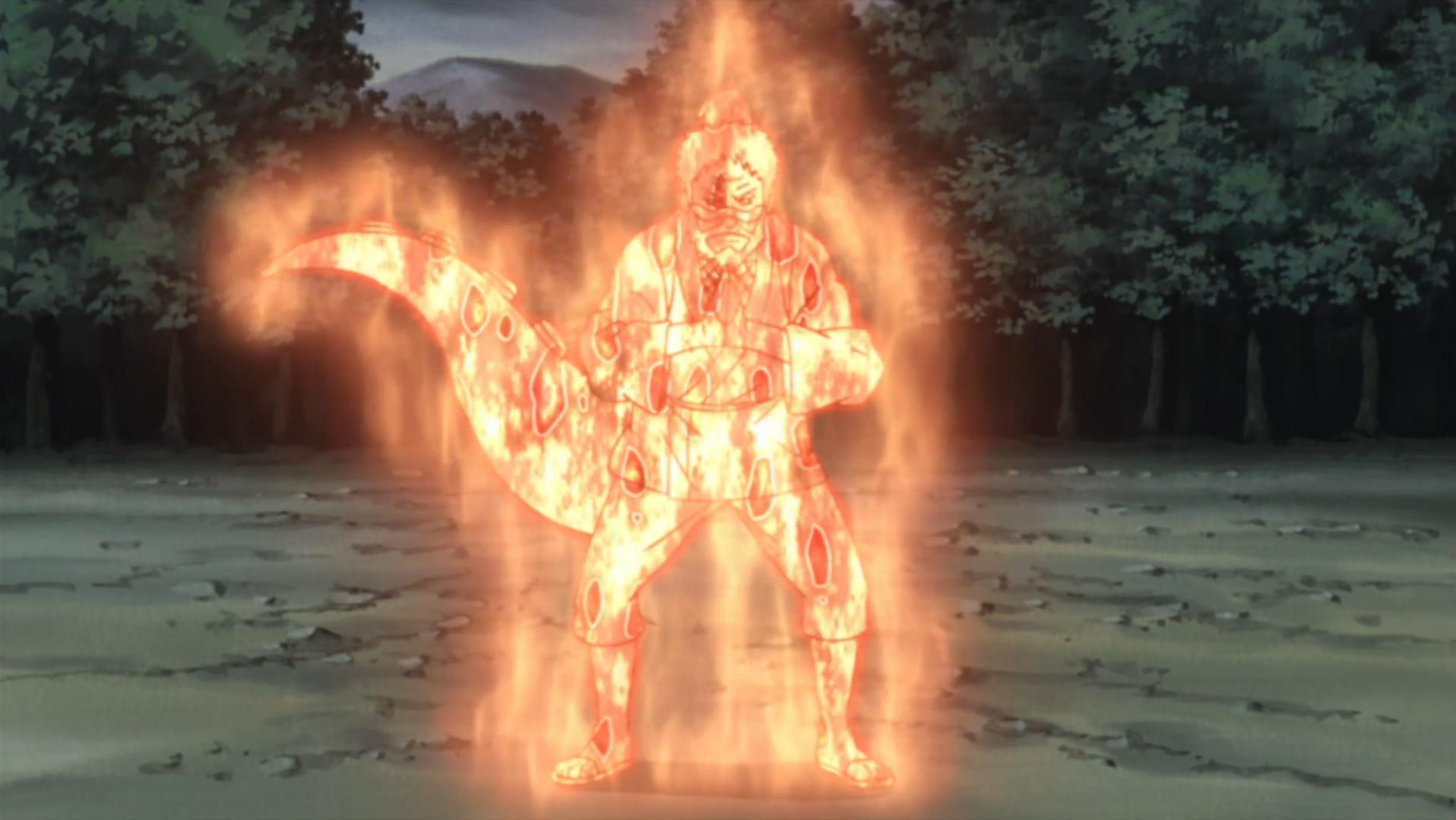 Modo Chakra de Elemento Lava