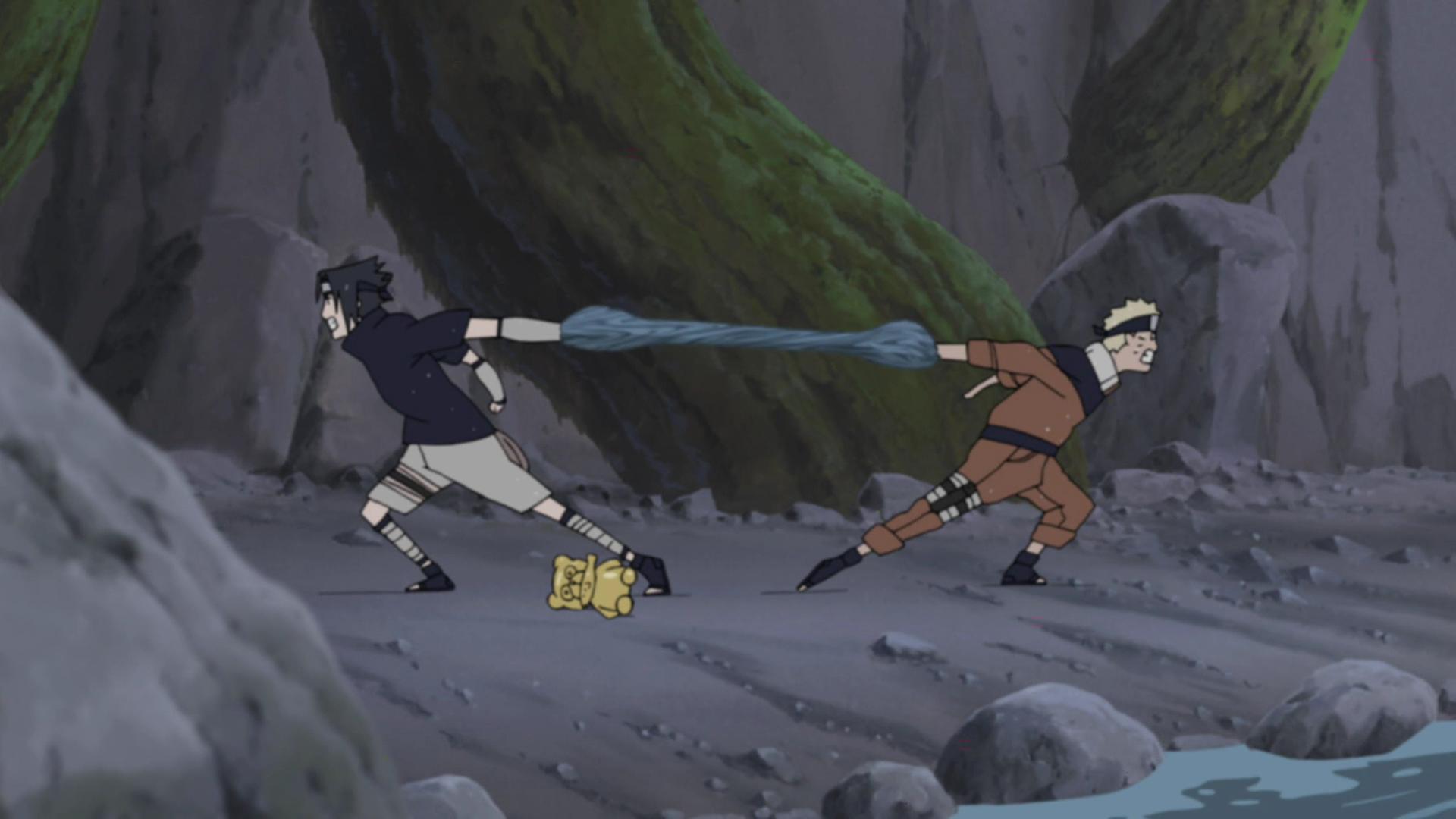 Naruto Shippūden - Episódio 194: A Pior Corrida de Três Pernas
