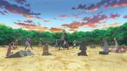 Formação das Múltiplas Cordas de Luz (Alunos de Shino - Anime)