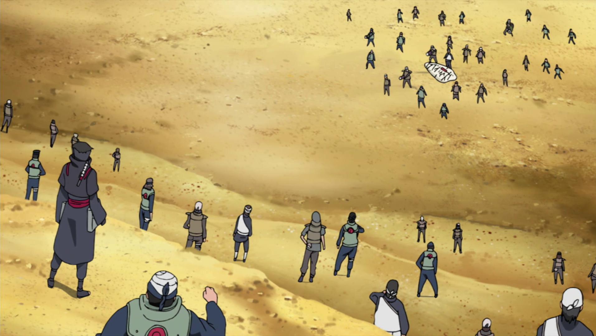 L'Armée de ninjas réincarnés !!