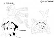 Arte Pierrot - Chibi Isobu