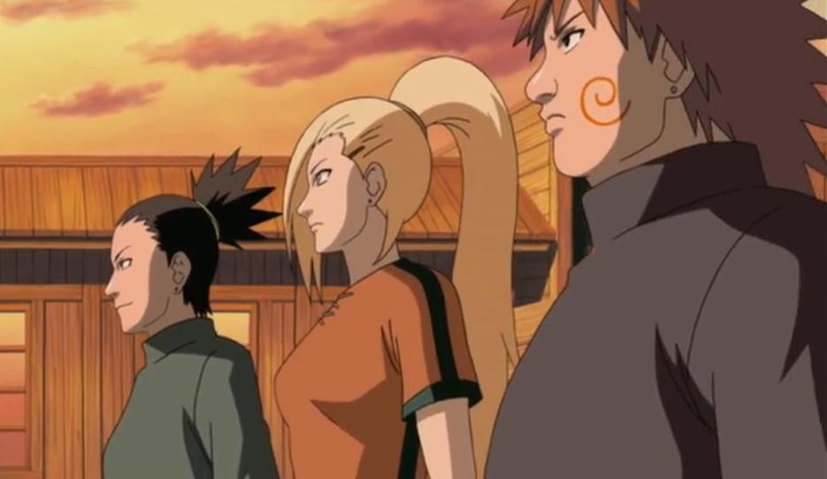 Naruto Shippūden - Episódio 239: O Lendário Ino-Shika-Chō