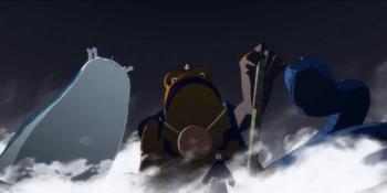 Cada miembro del equipo Kakashi hace su invocación personal...