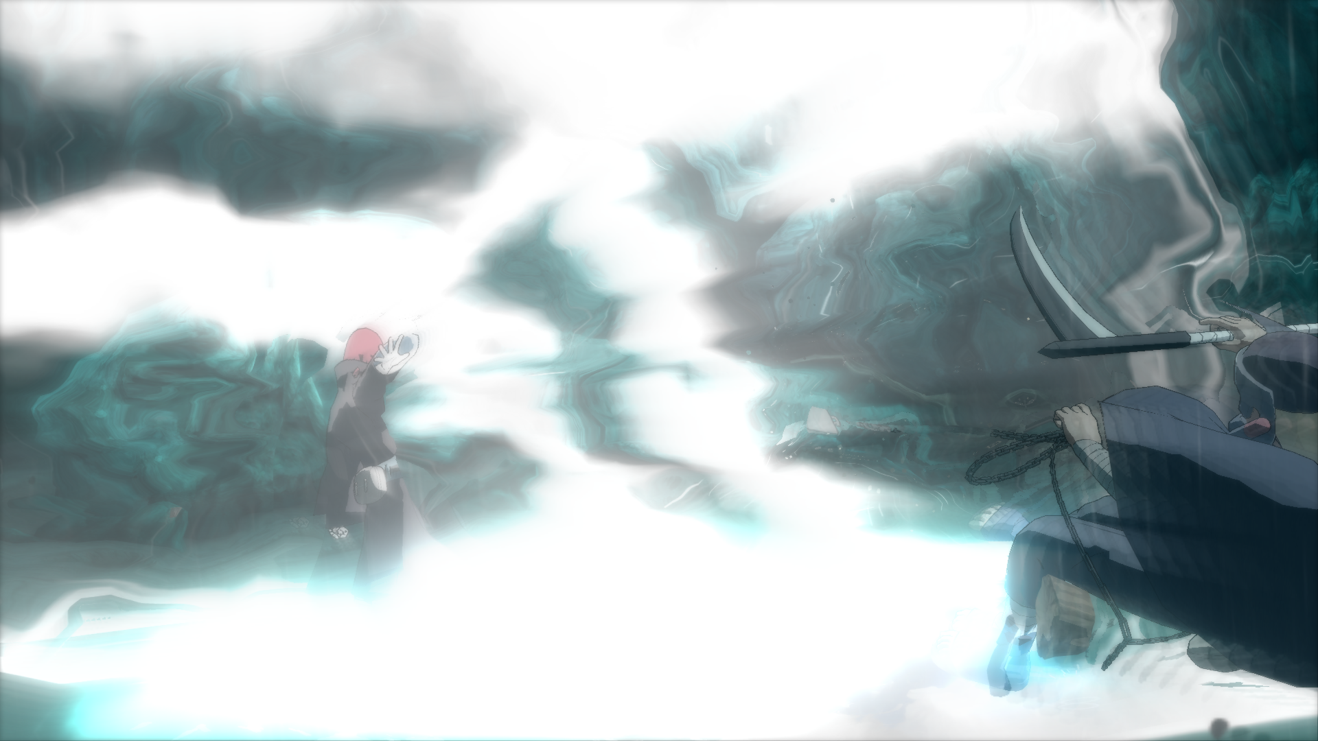 Combo Ataque: Shinra Tensei
