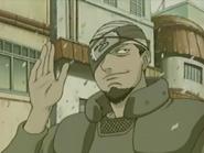 Aparência do Ninja Chefe de Kumogakure