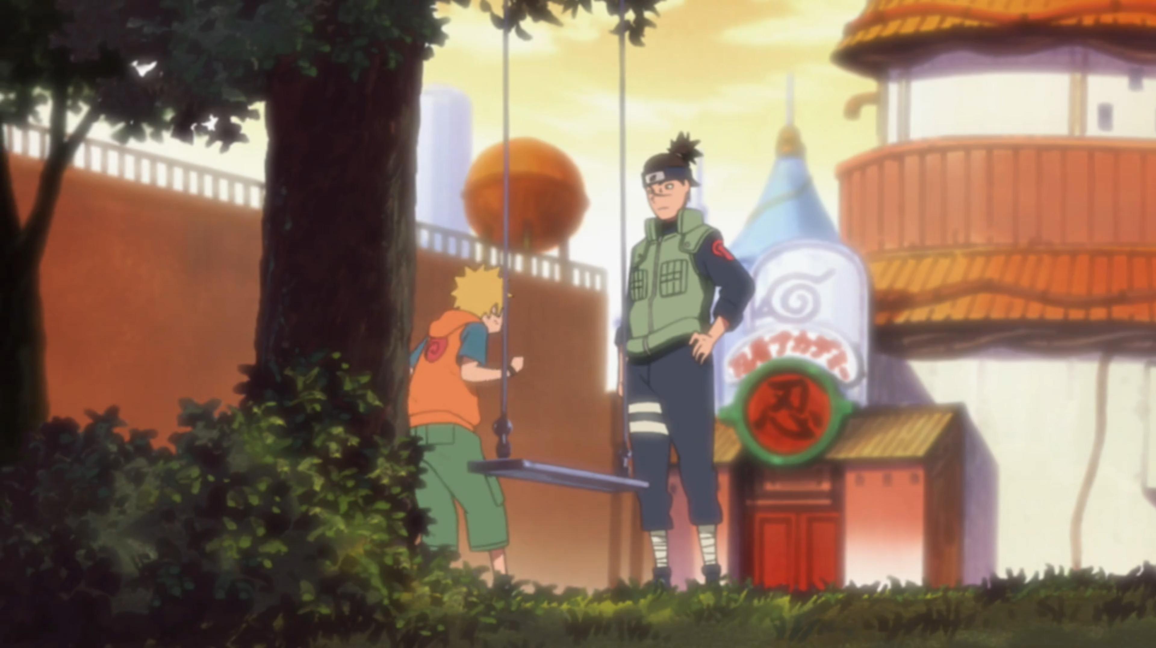 Chapitre de Konoha : La Décision d'Iruka