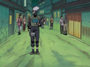 …to mask the ninja's movements.