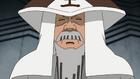 Ishikawa durante su vejez utilizando el sombrero de Tsuchikage.png